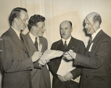 1939, March 20. AA. Washington, District of Columbia. AT NATIONAL INTERCOLLEGIATE FLYING CONFERENCE. ACME Photo (Front)