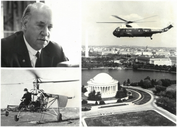 1964, September 10. AA. The twenty-fifth birthday of the western hemisphere's first successful helicopter - the Sikorsky VS-300 - will be observed Sept. 14, 1964 (Front)